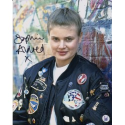 Sophie Aldred Doctor Who genuine signed signature photo COA UACC