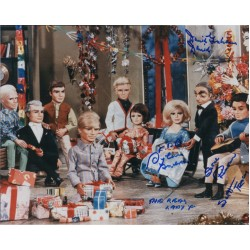 Thunderbirds Rimmer Sylvia Anderson genuine signed authentic signature photo