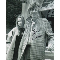 Tom Baker Doctor Who authentic genuine signed photo COA AFTAL 3