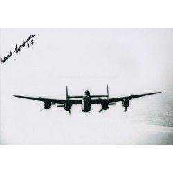 WW2 Benny Goodman 617 Sqn Tirpitz genuine authentic signed autograph photo