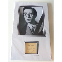 Charles Hawtrey Carry On genuine authentic signed autograph display