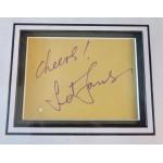 Sid James Carry On signed authentic genuine signature autograph COA