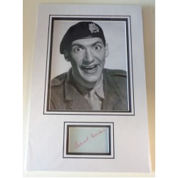 Bernard Bresslaw Carry On signed authentic genuine signature autograph