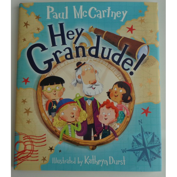 Paul McCartney Hey Grandude signed genuine authentic signature book