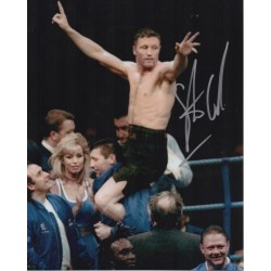 Steve Collins Boxing original authentic signed autograph photo COA