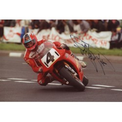 Carl Fogarty authentic genuine autograph signed photo COA