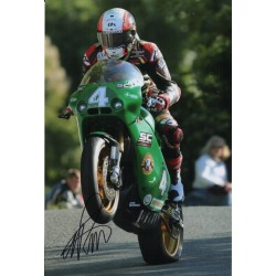 Michael Rutter Superbikes TT authentic signed autograph photo COA