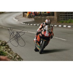 John McGuiness IOM TTgenuine authentic signed autograph photo 3
