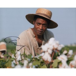 Chiwetel Ejiofor 12 Years a Slave signed authentic autograph photo AFTAL