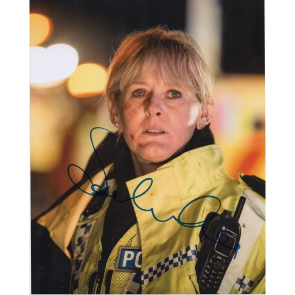 Sarah Lancashire Happy Valley authentic genuine signed photo COA