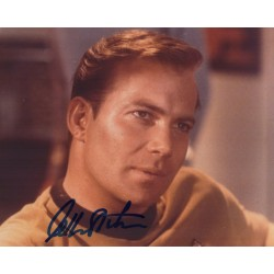 William Shatner Star Trek authentic genuine signature signed photo COA AFTAL