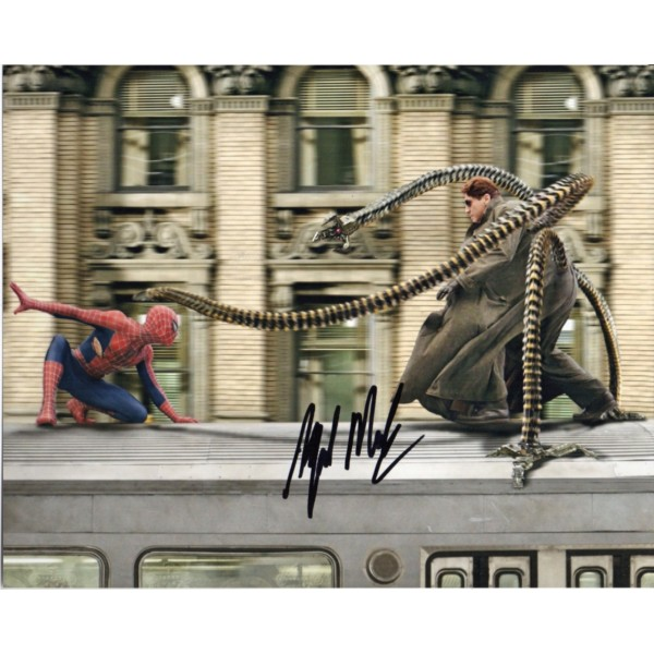 Alfred Molina Spederman signed authentic autograph photo