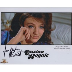 Jacqueline Bisset James Bond genuine authentic autograph signed photo