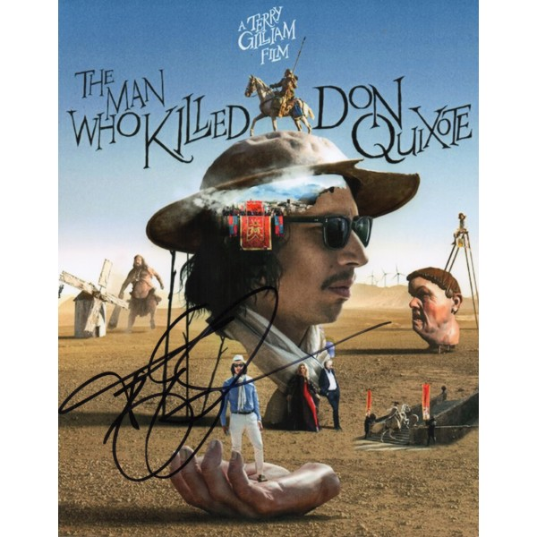 Terry Gilliam Monty Python authentic genuine signed autograph photo COA 2
