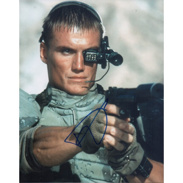 Dolph Lundgren authentic genuine signed autograph photo COA 2