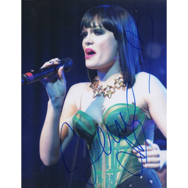 Jessie J sexy Music authentic genuine signed autograph photo COA
