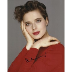 Isabella Rossellini authentic genuine signed autograph photo COA