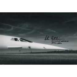 John Hutchinson Concorde authentic genuine signed autograph image 5 AFTAL