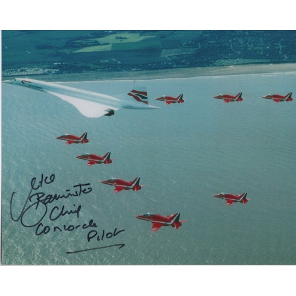 Mike Bannister Concorde authentic genuine signed autograph image 6