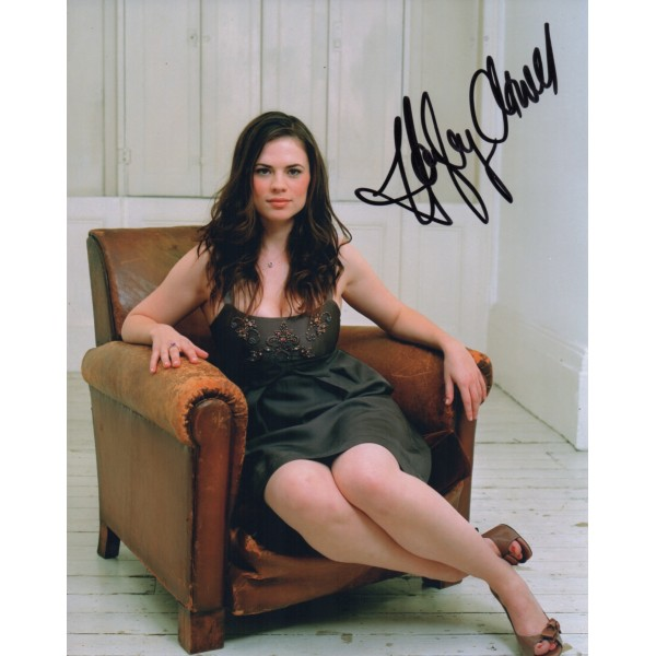 Hayley Atwell sexy authentic genuine signed autograph photo COA UACC