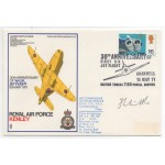 WW2 Frank Whittle Jet Engine genuine authentic signed autograph FDC COA