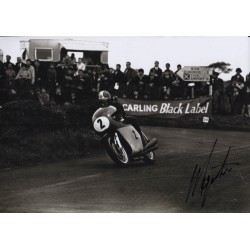 Giacomo Agostini genuine authentic autograph signed photo 2 COA
