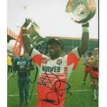 Martin Offiah Rugby genuine signed authentic autograph photo