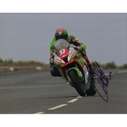 James Hillier Superbikes TT IOM authentic signed autograph photo COA