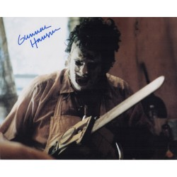 Gunnar Hansen Texas Chainsaw Massacre genuine signed autograph photo COA