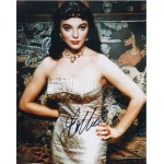 Joan Collins genuine signed authentic signature photo COA UACC AFTAL