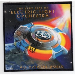 Jeff Lynne signed ELO CD authentic genuine signed autograph COA UACC