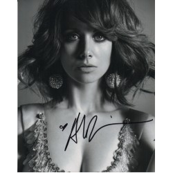 Alison Brie sexy GLOW authentic genuine signed autograph photo COA 2