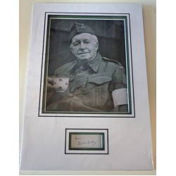Arnold Ridley Dads Army signed authentic genuine signature autograph