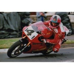 Carl Fogarty Superbikes Ducati authentic signed genuine autograph photo