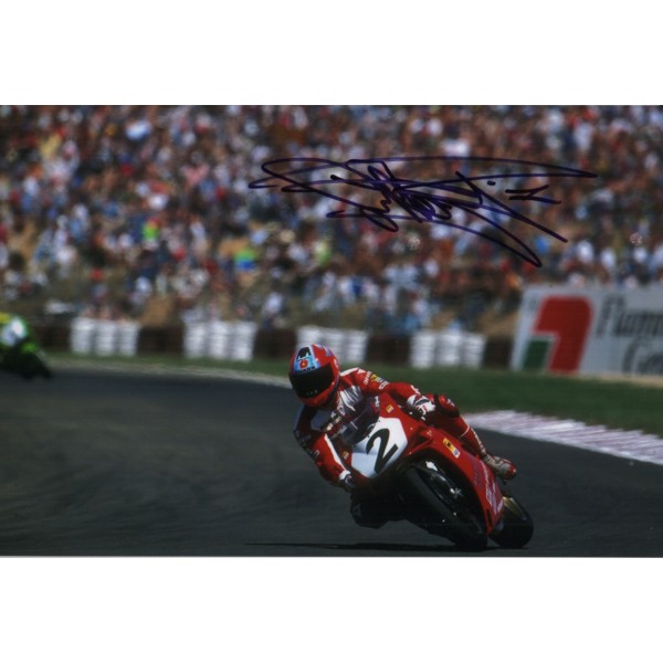 Carl Fogarty Superbikes TT authentic signed autograph photo