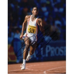 Derek Redmond Athletics genuine authentic signed autograph photo