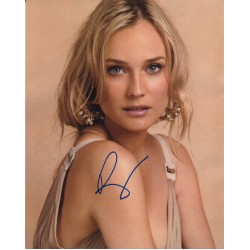 Diane Kruger authentic genuine signed autograph photo COA 2