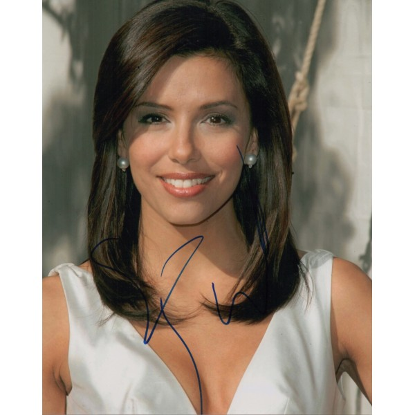 Eva Longoria authentic genuine signed autograph photo COA