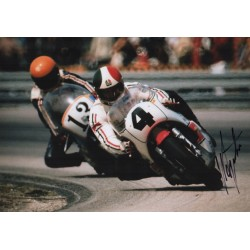 Giacomo Agostini genuine authentic autograph signed photo COA