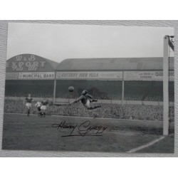 Harry Gregg Man United Busby Babe authentic genuine signed large photo