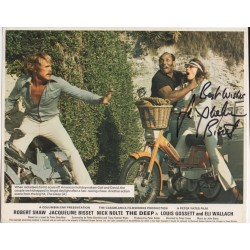 Jacqueline Bisset The Deep etc signed authentic autograph litho COA UAC