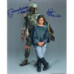 Jeremy Bulloch Daniel Logan Star Wars authentic genuine signed autograph photo