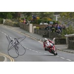 John McGuinnness IOM TT authentic autograph signed photo UACC