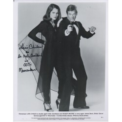 Lois Chiles James Bond authentic genuine signed autograph photo COA UACC AFTAL