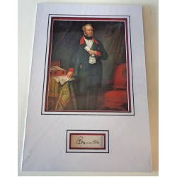 Lord Palmerston PM signed authentic genuine signature autograph 2