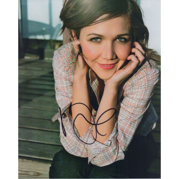 Maggie Gyllenhaal authentic genuine signed autograph photo COA