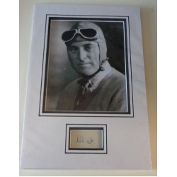 Malcolm Campbell  signed authentic genuine signature autograph