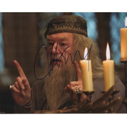 Michael Gambon Harry Potter authentic genuine signed autograph photo