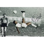 Pele Brazil Football signed original genuine autograph authentic photo