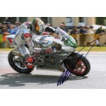 Peter Hickman Norton Superbikes TT authentic signed autograph photo